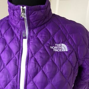The North Face Purple Lightweight Quilted Jacket